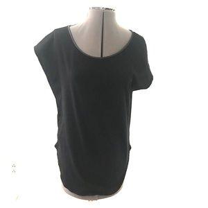 Zara scoop neck top